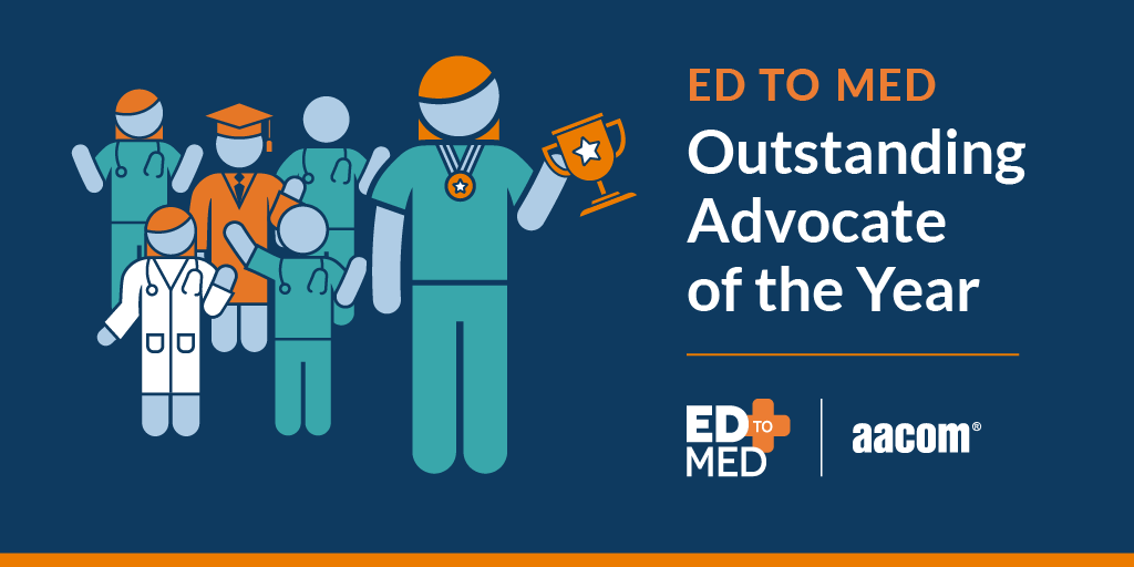 Become ED to MED's Outstanding Advocate of the Year